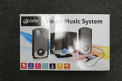 GPX HM3817DTBK Home Music System with Remote