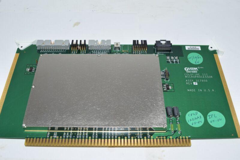 Guzik 317950 Rev. P Coldfire III Microprocessor PCB Board USA