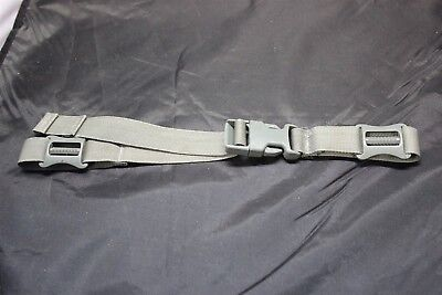 Grey Systems - ACU DIGITAL GREY SHOULDER PAD STERNUM / CHEST STRAPS WORKS W ALL MOLLE SYSTEMS