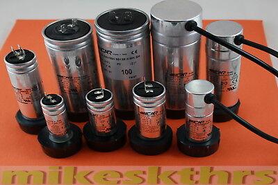 1-120 µF uF 450V ICAR Anlaufkondensator Motorkondensator Betriebskondensator DHL