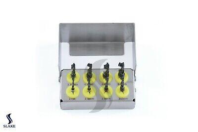 Dental Implant Drill Kit 8 Pcs Set External Irrigation Surgical Bur Holder Ce