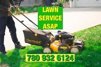 LAWN MOWING AND MORE 780 932 6124