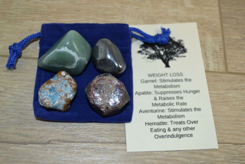 Healing Crystals Pouch Weight Loss
