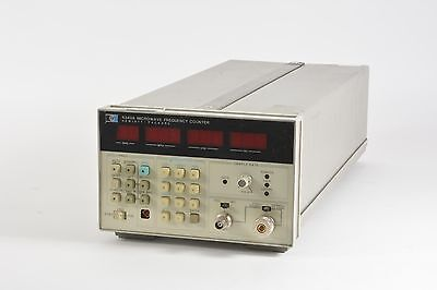 Hp 5343a Microwave Frequency Counter Options 001 011