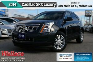 2014 Cadillac SRX 2.99%FINANCING FOR  60 MTH .LUXURY/AWD/SUNRF/N