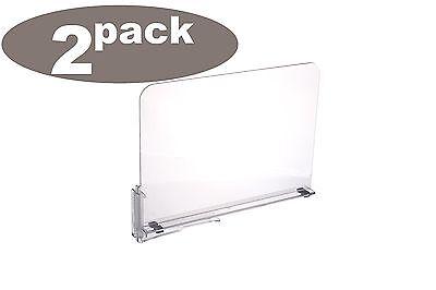 Ybmhome Acrylic Shelf Dividers, Closet Shelves, Organizer  S