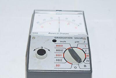 Brown Sharpe Model No. 599-1000 Inchmetric Electronic Pocket Amplifier