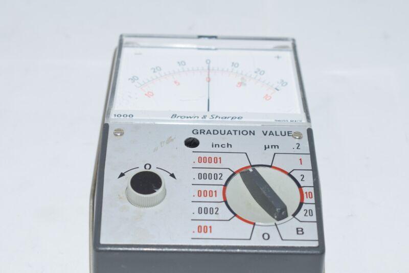 Brown & Sharpe Model No. 599-1000 Inch/Metric Electronic Pocket Amplifier