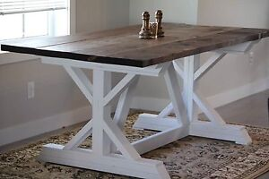 Country Farmhouse Dining Table (Delivery Available)