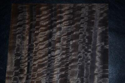 Fumed Eucalyptus Raw Wood Veneer 8.5 X 21 Inches  F8636-32