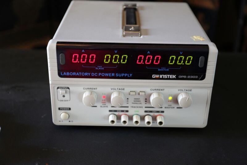 GW Instek GPS-2303 Dual Output Linear DC Power Supply, 2 Channels