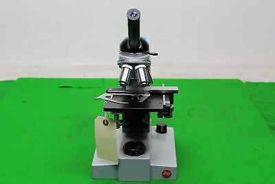 Leitz Wetzlar SM-LUX Laboratory Microscope in great condition w/ 4 Objectives for sale  Pontypool