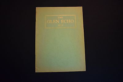 1933 The Glen Echo Codorus Township High School Glenville Pa Unsigned Yearbook