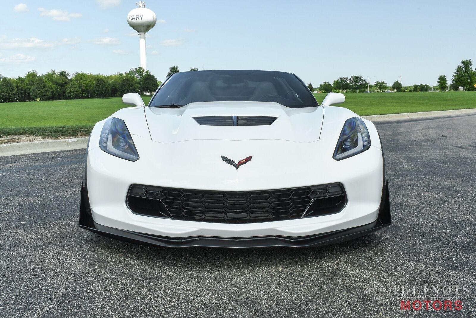 2017 White Chevrolet Corvette Z06    C7 Corvette Photo 9