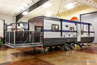 New 2019 22RR Meagre Lite Lightweight Toy Hauler Travel Trailer Camper For Sale