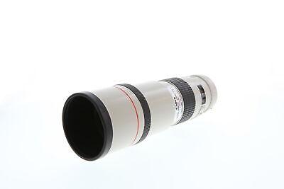 Canon 300mm F/4 L USM EF Fixed Focal Telephoto Mount Lens {77} *UG*