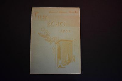 1951 The Glen Echo Codorus Township High School Glenville Pa Unsigned Yearbook