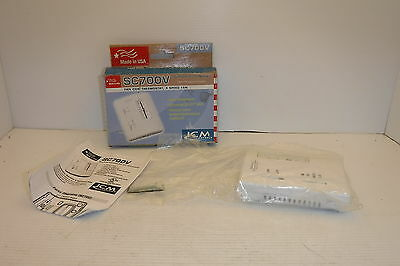ICM CONTROLS SC700V NON PROGRAMABLE FAN COIL THERMOSTAT 3 SPEED FAN NIB Fan Controller Program