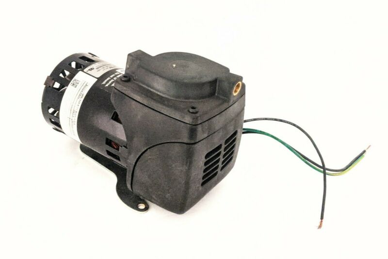 GAST 22D1180-201-1003 Miniature Diaphragm Air Compressor Pump, 115V, 1/20 HP