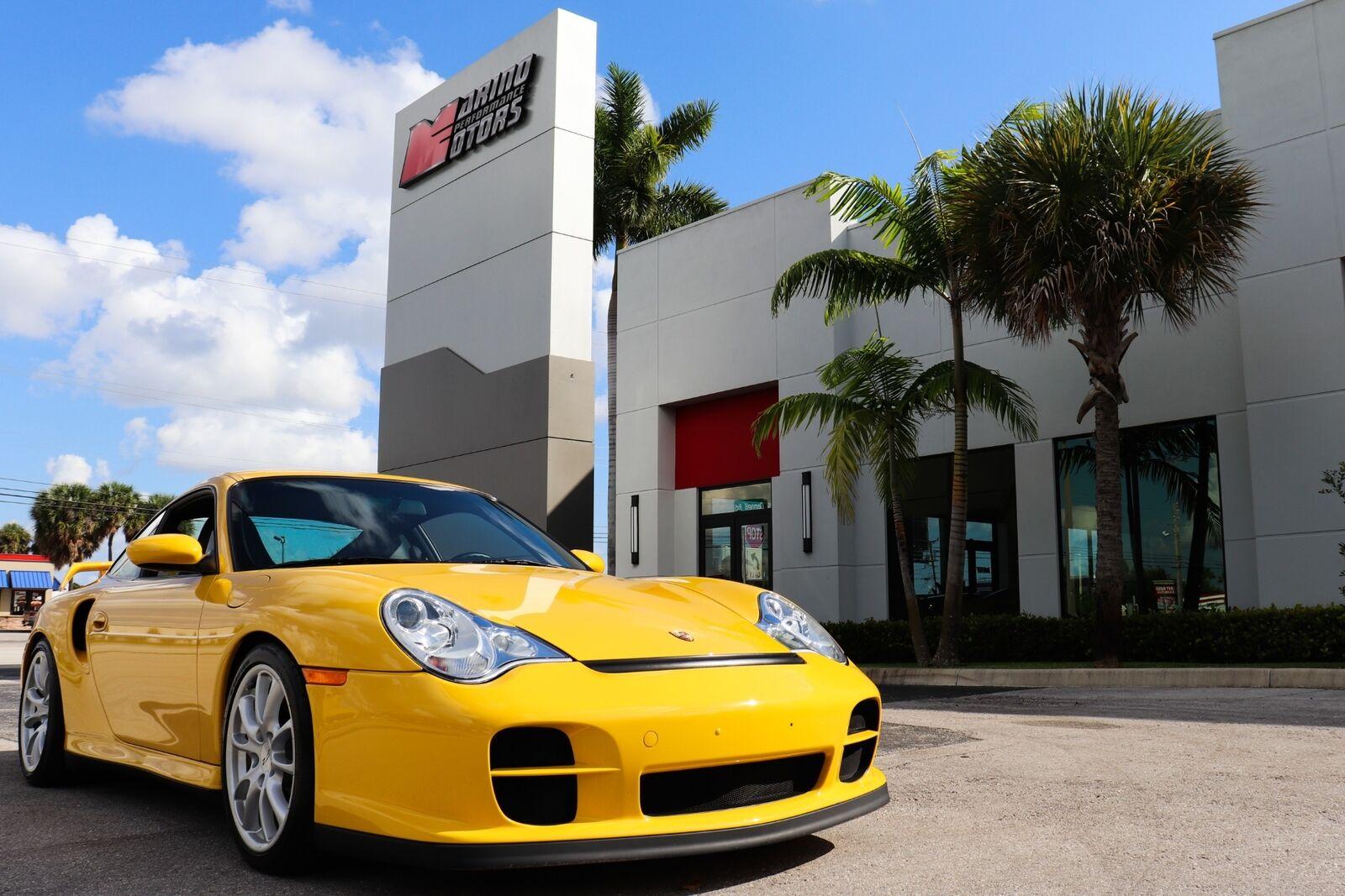 2004 Porsche 911 GT2 - RARE 1 OF 4 SPEED YELLOW - 8,141 MILES