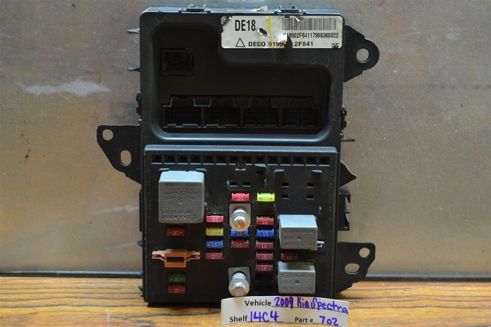 Kium Spectra5 Fuse Box Location