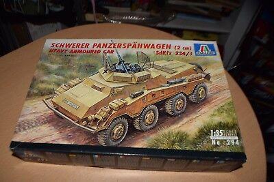 Italeri Schwerer Panzerspahwagen Tank Model Kit 294 IN BOX