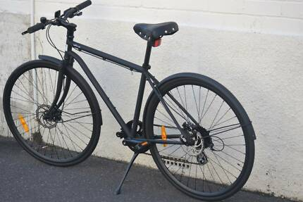 New City bike Chromoly frame Shimano 8speed hydraulic disc brakes
