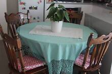 Rellocation sale round dining table with 4 dining chairs Drummoyne Canada Bay Area Preview