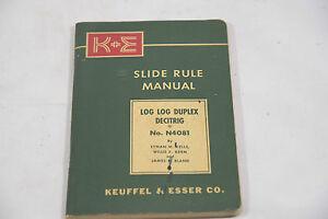 SLIDE RULE INSTRUCTIONS