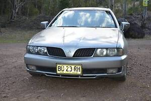 2002 MITSUBISHI MAGNA SPORTS. MANUAL. REGO 7/11/16 Raymond Terrace Port Stephens Area Preview