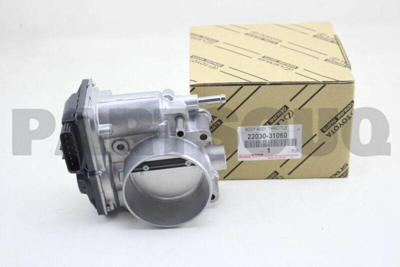 2203031060 Genuine Toyota Body Assy, Throttle W/motor 22030-31060