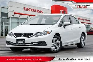 2014 Honda Civic LX | Heated Seats, Rearview Camera, Bluetooth