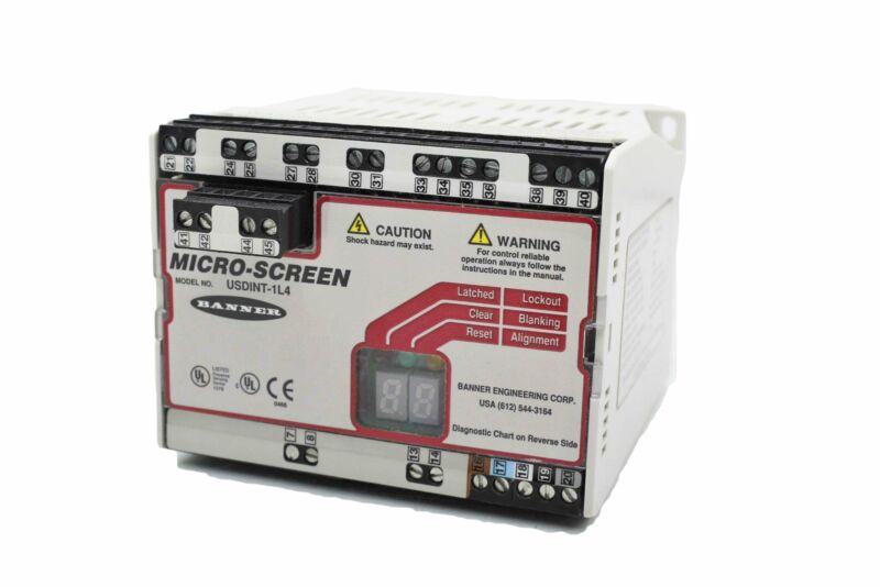 Banner Micro Screen USDINT-1L4 Light Curtain Controller Micro-Screen