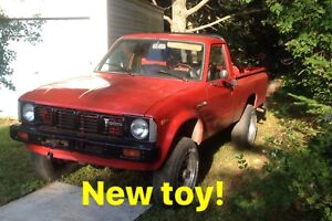 Looking for parts. 1980 Toyota pickup
