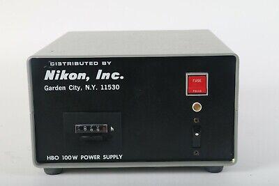 Nikon 78591 Hbo 100w Power Supply