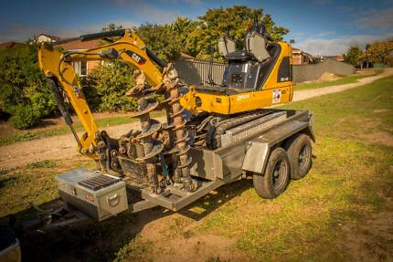 1.4t Mini Excavator Tight Access From $250 *Free Tank of Fuel