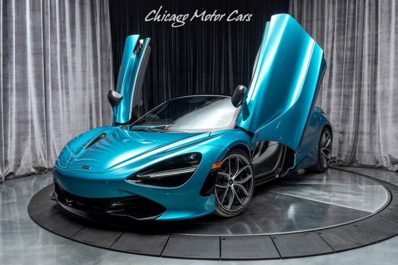 Image 3 Voiture Asiatique d'occasion McLaren 720S 2020