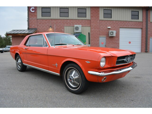 Ford : Mustang 289 4-SPEED 1965 1964 1 2 ford mustang factory 289 v 8 4 speed car only 50 760 miles