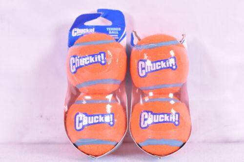 Chuckit!® Tennis Ball Dog Toy size: Medium, Orange