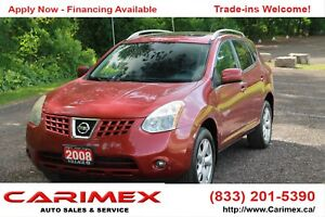 2008 Nissan Rogue SL Sunroof | Bluetooth | Leather | Heated S...