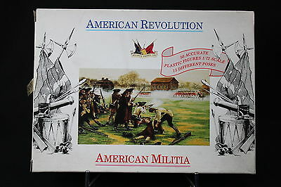 XJ140 Accurate Personaggi 1/72 7201 American Revolution Militia