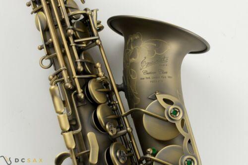 P. Mauriat PMXA-67R Series Professional Alto Saxophone Dark Lacquer, Mint