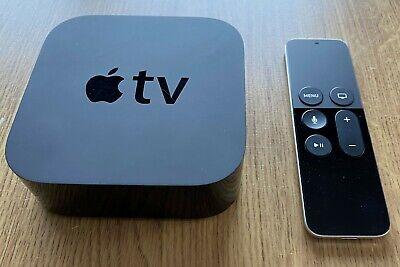 Apple TV 32GB - 4th Generation Media Streamer 1080p HD A1625 Black