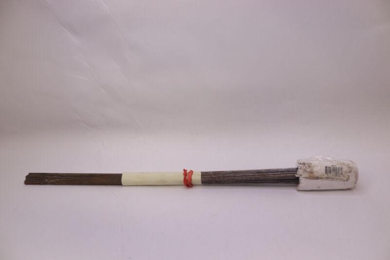 (100-Pk) Presco Wire Stake Marking Flags White  2