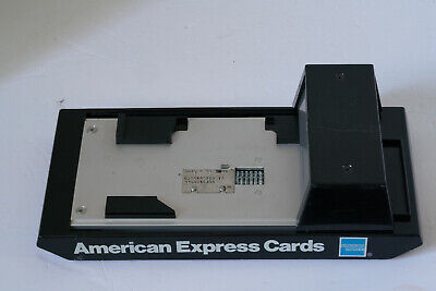 American Express Manual Bartizan Credit Card Imprinter Toys R Us
