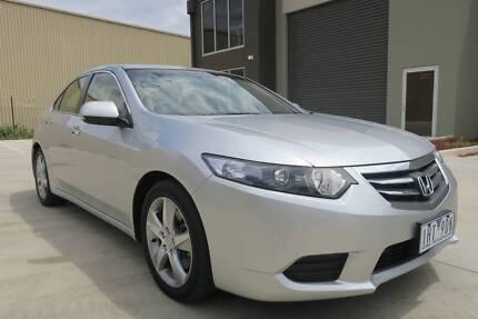2012 Honda Accord Euro CU MY13 Silver Automatic Sedan Campbellfield Hume Area Preview