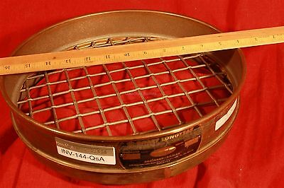 12 U. S. A. Standard Testing Sieve Seive 1.0 In 25.0 Mm 1 Opening
