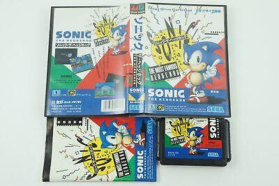 Sonic The Hedgehog 1 Genesis Sega Megadrive Box From Japan
