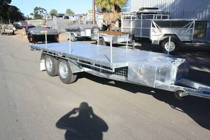 BUILT TOUGH FLAT DECK TRAILER Willaston Gawler Area Preview