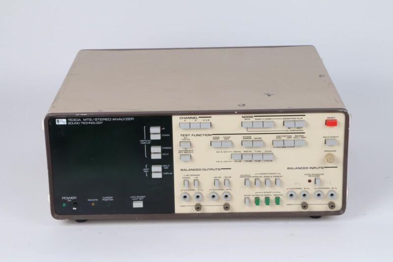 Sound Technology 1530A MTS / Stereo Analyzer
